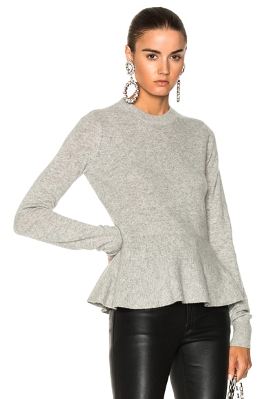 Raleigh Peplum Sweater
