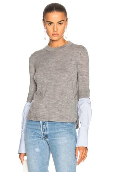 Roscoe Mixed Media Sweater