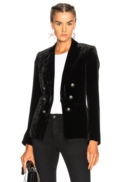 Velvet Briar Double Breasted Jacket