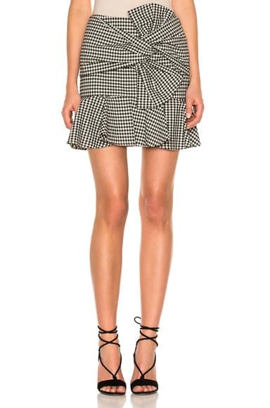 Picnic Bow Mini Skirt