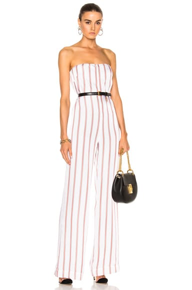 Bandstand Strapless Jumpsuit