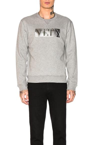 Metallic Logo Sweatshirt