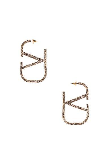 VLogo Earrings
