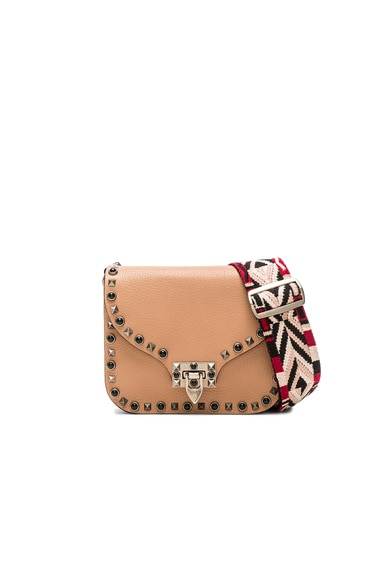 Guitar Rockstud Rolling Shoulder Bag