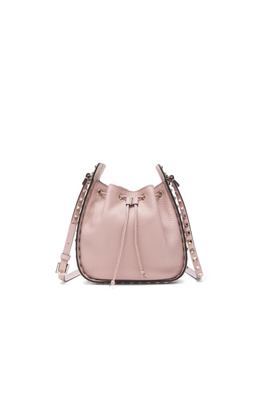 Rockstud Bucket Bag in Poudre