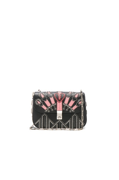 Metal Loveblade Crossbody Bag