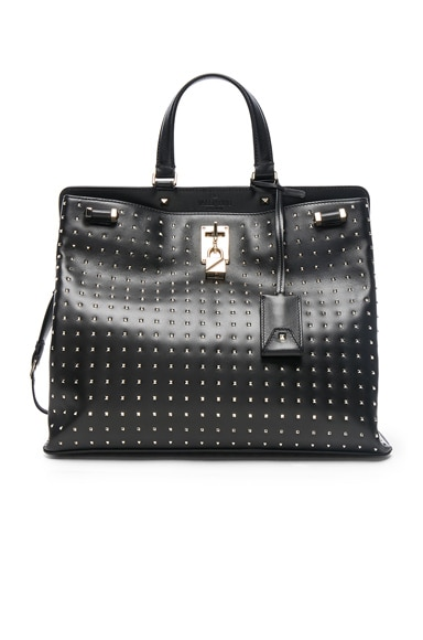 Studded Piper Handle Bag