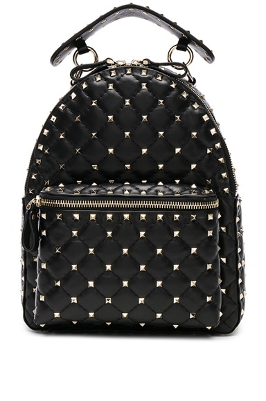 Small Rockstud Spike Backpack