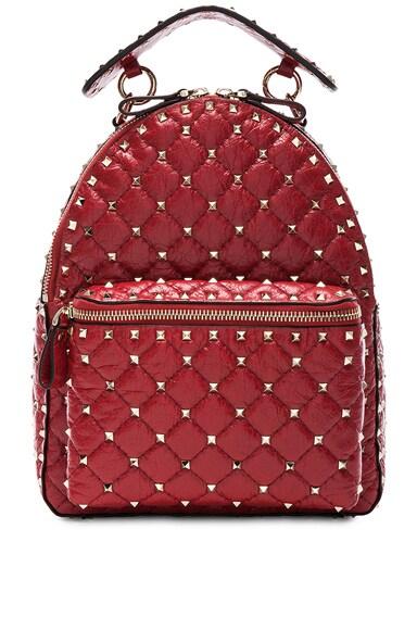 Small Rockstud Spike Backpack