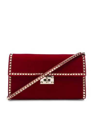 Velvet Rockstud No Limit Shoulder Bag