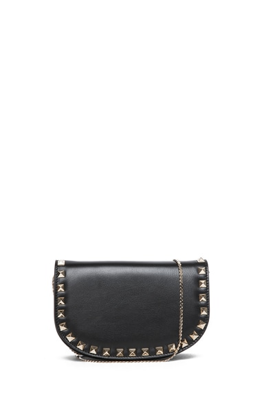 Mini Round Rockstud Shoulder Bag