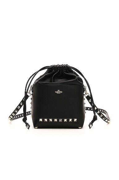 Mini Rockstud Bucket Bag