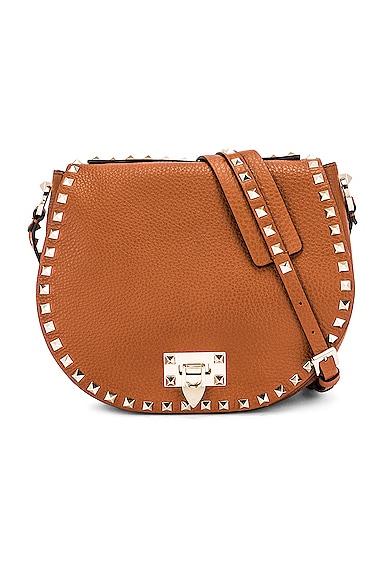 Small Rockstud Saddle Bag