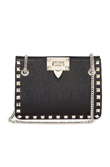 Mini Rockstud Chain Shoulder Bag