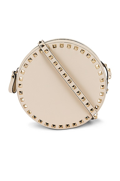 Valentino Leathers ROUND SHOULDER BAG