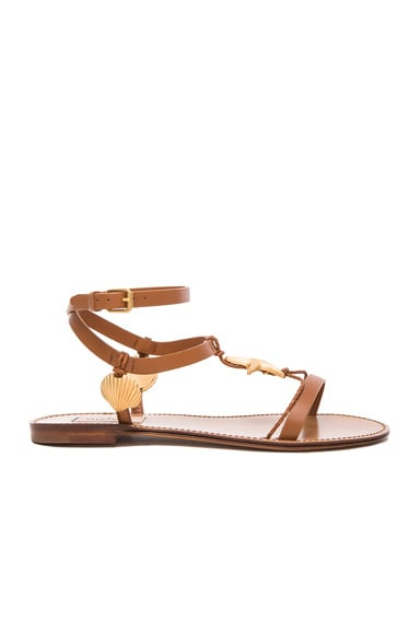 Abyss Leather Sandals