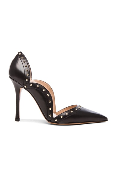 Punky Leather Pumps T.100