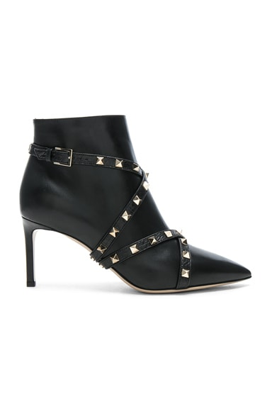 Studwrap Leather Booties