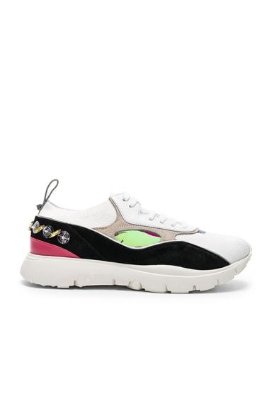 Heroes Her Embellished Heel Sneakers