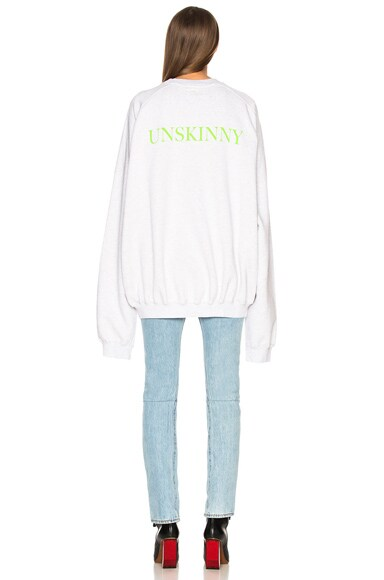Unskinny Crewneck Sweatshirt
