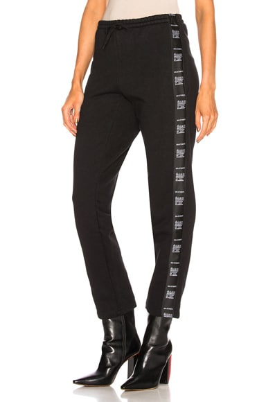 Composition Tape Sweatpants