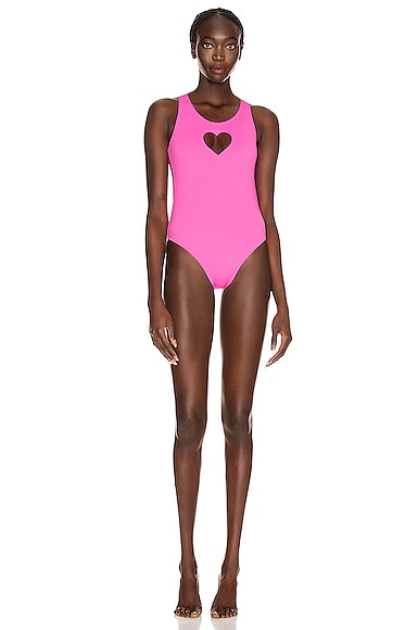 Heart One Piece Swimsuit