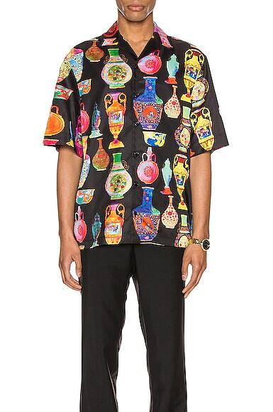 Short Sleeve Print Shirt