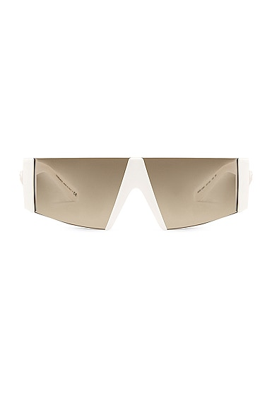 Rectangle Shield Sunglasses