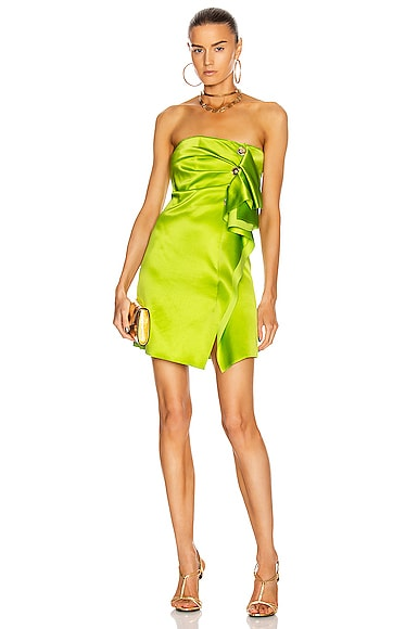 Mini Strapless Cocktail Dress