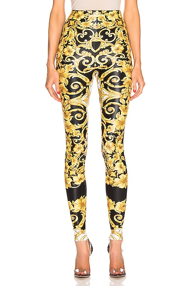 Hibiscus Printed Leggings