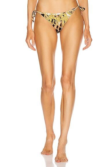 Adjustable Brief Bikini Bottom