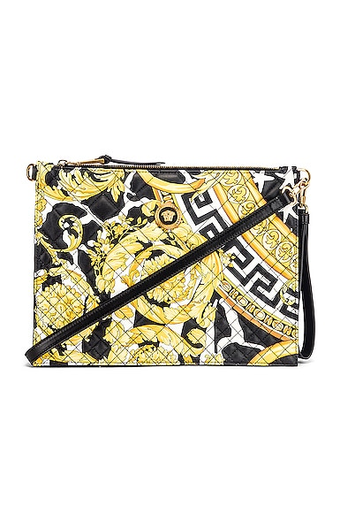 Quilted Icon Pouch Bag