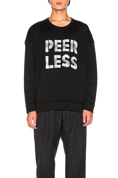 Jumbo Crewneck Sweater Peerless