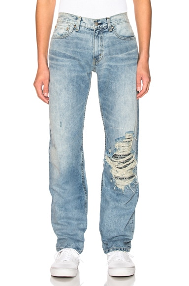 Distressed Beautiful Women Jean