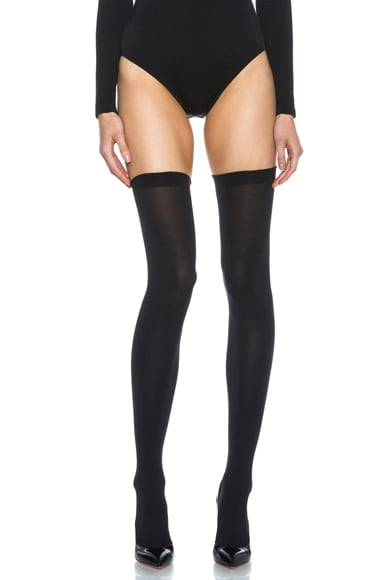 Fatal 80 Seamless Stay Up Nylon-Blend Tights