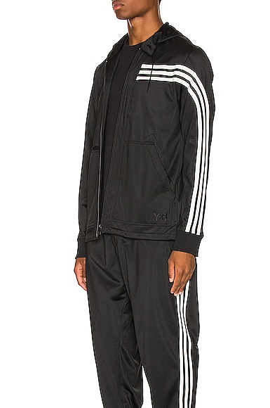 3 Stripe Hooded Track Top