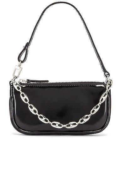 Mini Rachel Semi Patent Leather Bag