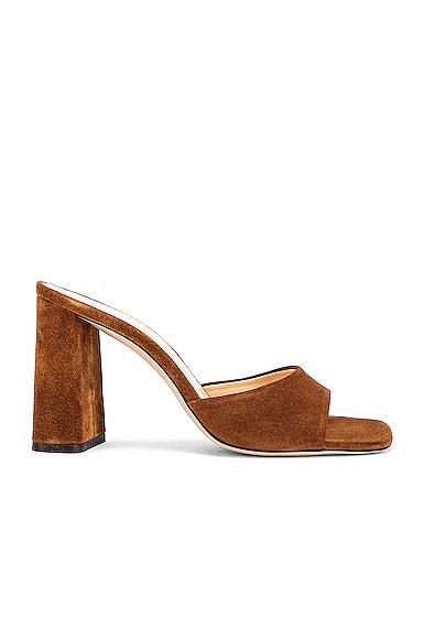 Juju Suede Leather Sandal