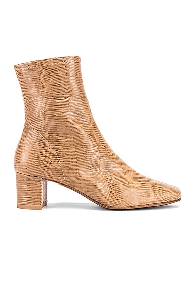 Sofia Lizard Embossed Boot
