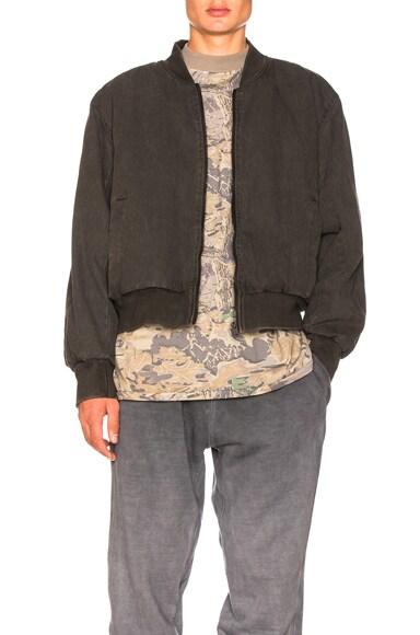 Season 4 Canvas Bomber Jacket