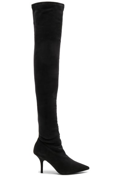 Season 5 Suede Thigh High Boots