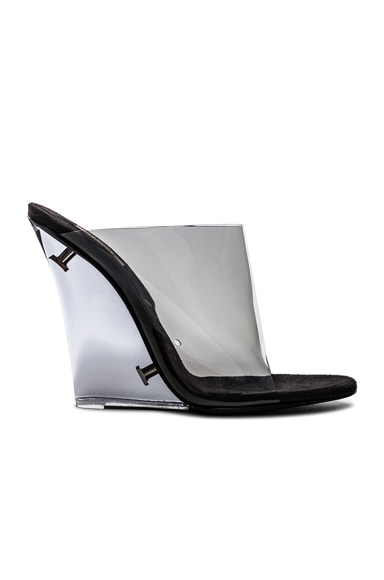 Season 7 PVC Wedge Mules