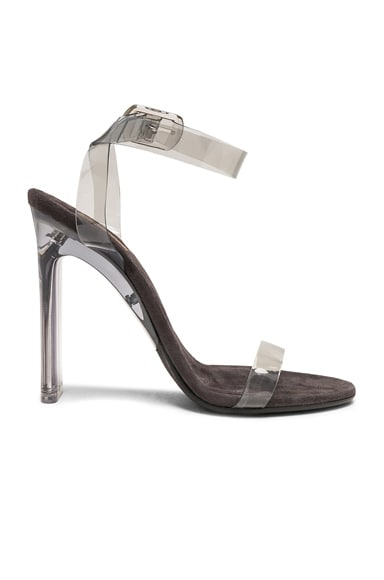 Season 7 PVC Ankle Strap Sandals