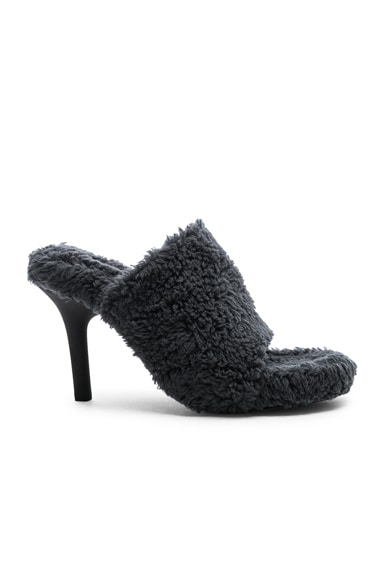 Season 7 Faux Shearling Mule