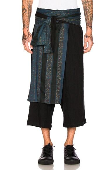Waist Cloth Trousers