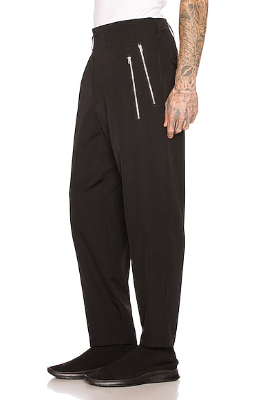 Slim Zip Pants