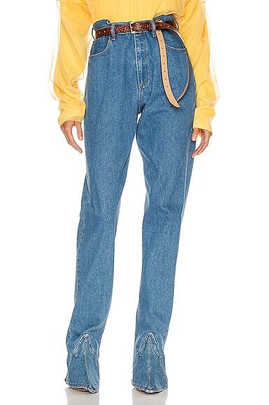 Cowboy Boot Denim