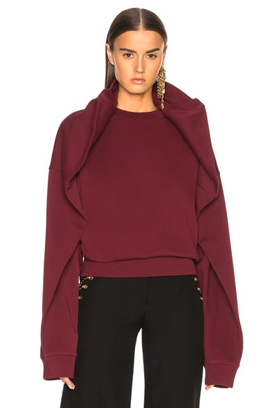 Oversized Shoulder Sweatshirt