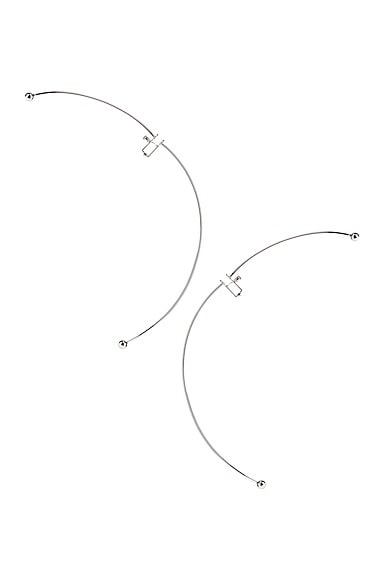 Semi Hoop Earring
