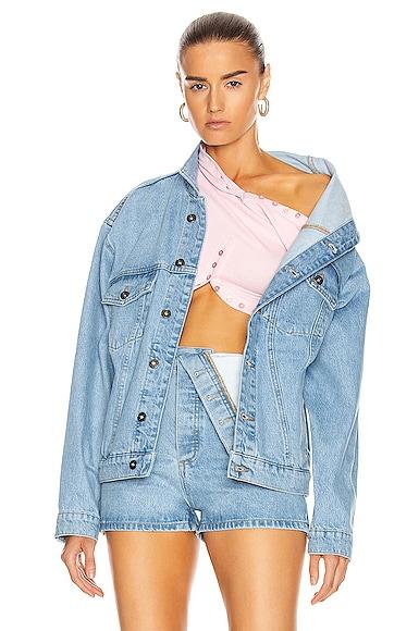Asymmetric Collar Jacket